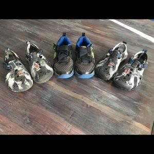 Bundled lot of Boys Skechers Shoes 11